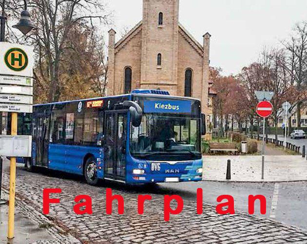 Die Fahrpläne der Busse müssen kurzfristig verbessert werden.